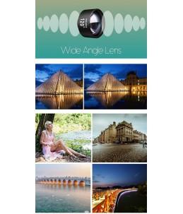 Billig extern lins för Wide angle bilder till telefonen