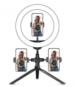 Ring light 26cm x3 - Stativ...